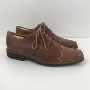 Sandro Moscoloni Bryan Leather Cap Toe Derby